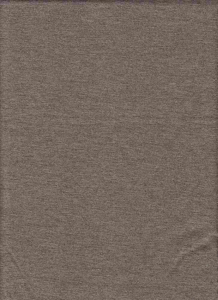 RSJ MELANGE / MELANGE BROWN / RAYON SPANDEX JERSEY
