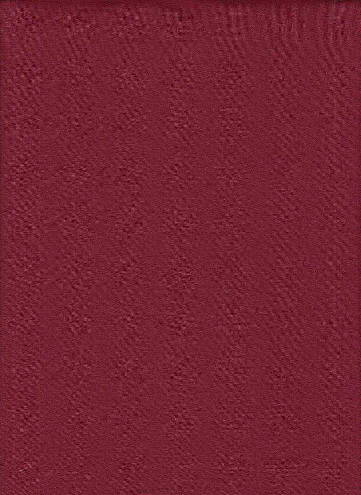 17086 / BURGUNDY / BABY FRENCH TERRY