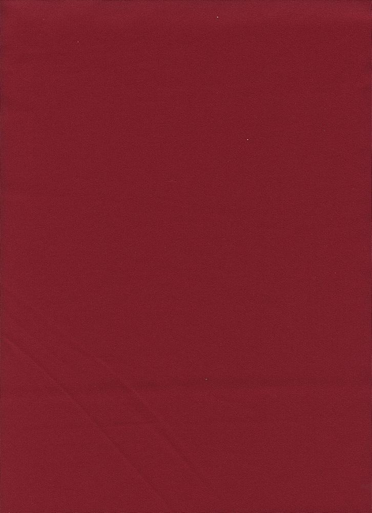 TECHNO / WINE / DOUBLE KNIT[TECHNO] KNITTED FABRIC