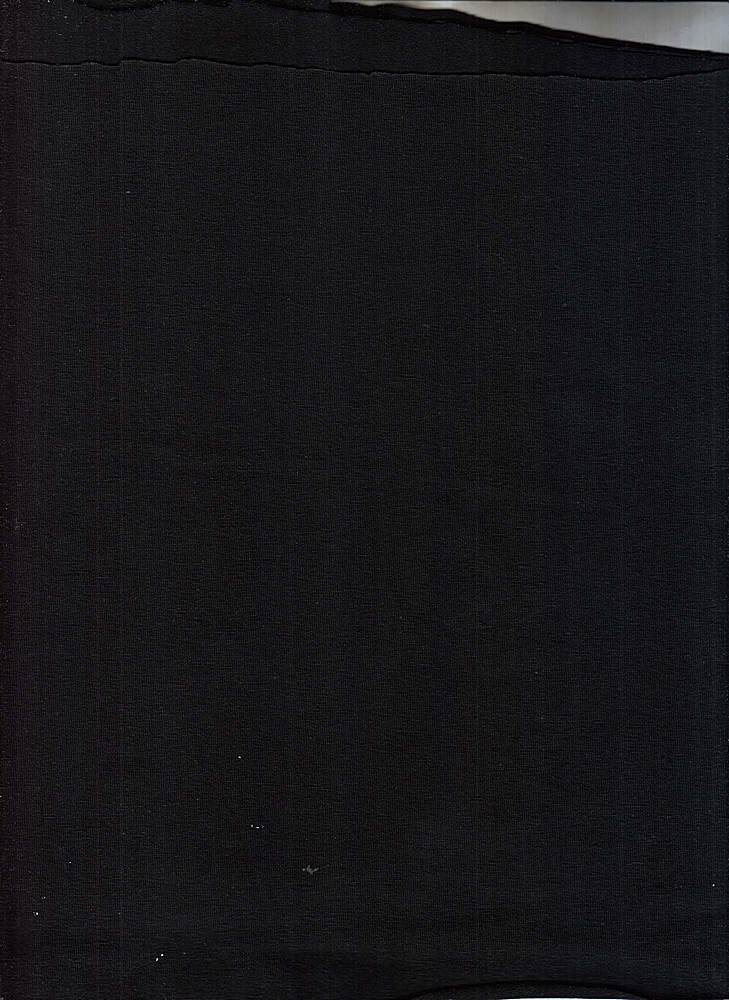CSJ 240 / BLACK 1 / JERSEY COTTON SPANDEX IMP