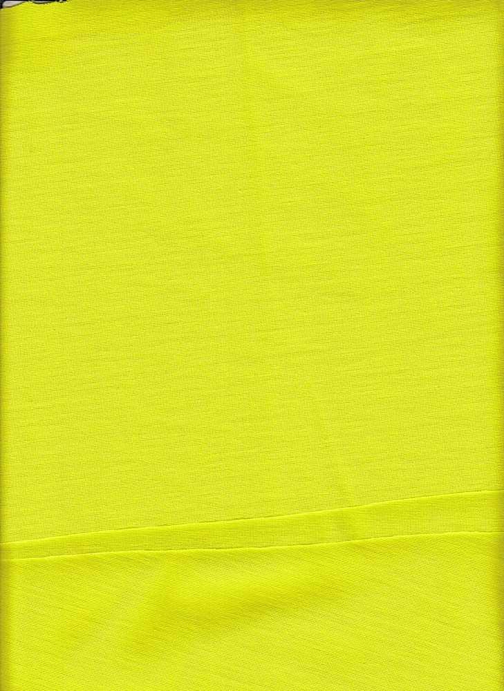 13999 / NEON YELLOW / 340 GSM VISCOSE NYLON SPN PONTI