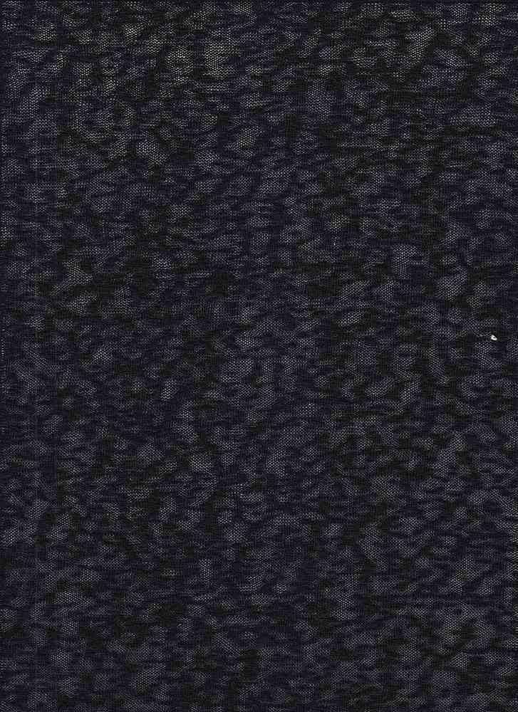 18332 / BLACK / RAYON POLY SLUB JERSEY