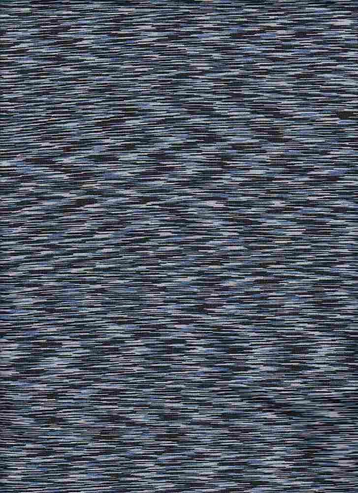 18336 / BLACK/BLUE / ATHLETIC SPACE DYE