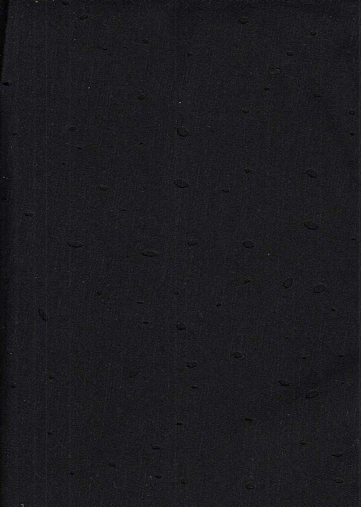 18368 / BLACK / COTTON CHOKO JERSEY