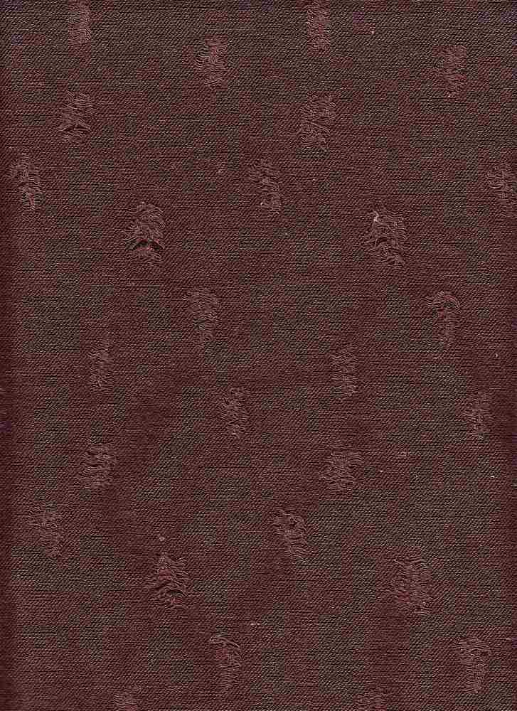 18394 / ELDERBERRY / SHREDDED BABY FRENCH TERRY