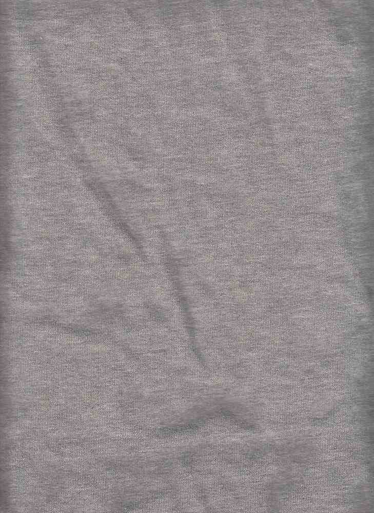 19406 / HTR GREY / 300GSM FRENCH TERRY