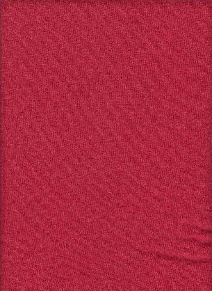 18397 / RED / WASHED TERRY SPANDEX