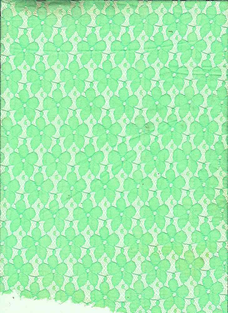 LACE SMLPANSY / NEON GREEN / SMALL PANSY LACE