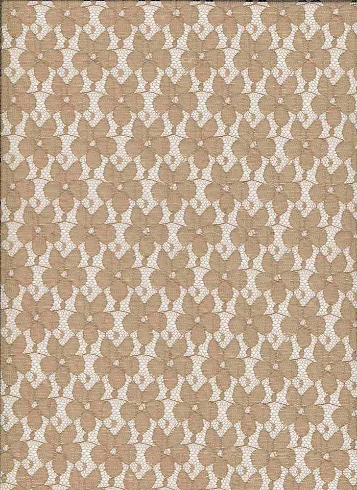 LACE SMLPANSY / TAUPE / SMALL PANSY LACE