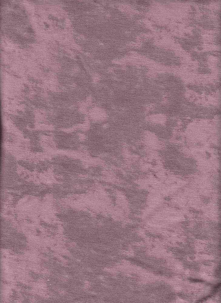 PABS 10025 / DK MAUVE / DISTRESS PRINT ON FRENCH TERRY
