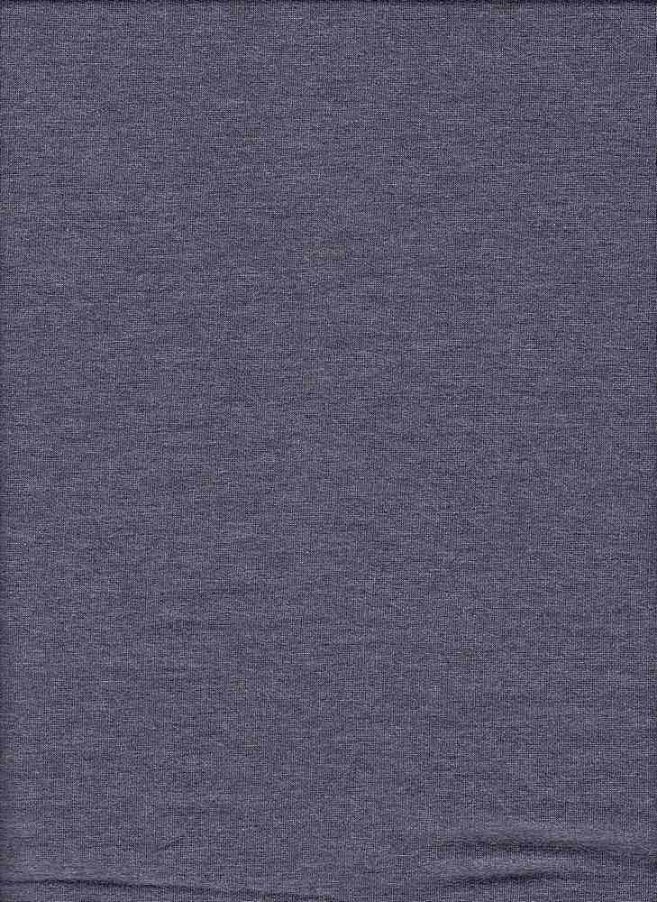 17086-200 / HTR DENIM / POLY RAYON SPANDEX FRENCH TERRY