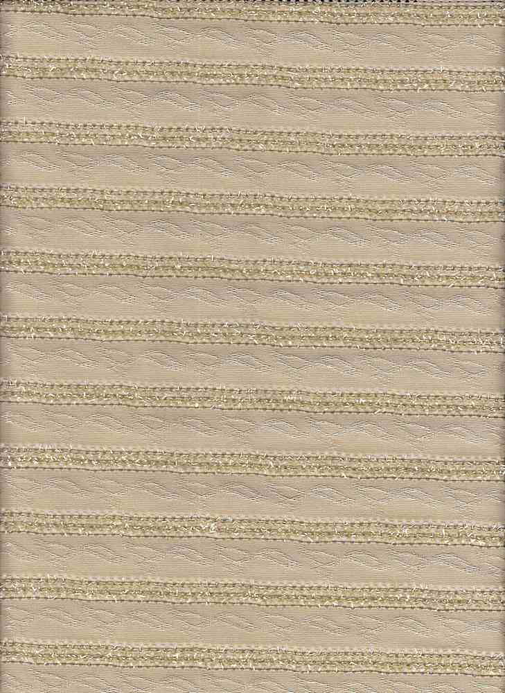 19499 / LT BEIGE / CHENILLE KNIT