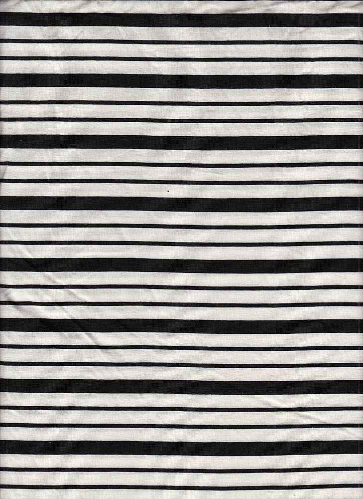 19513 / BLACK/NATURAL / Compact Siro Verigated Stripe
