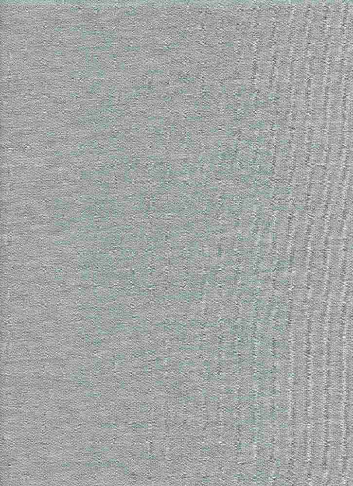 D1077-SOLID / HGREY-SOLID / BABY FRENCH TERRY SOLID