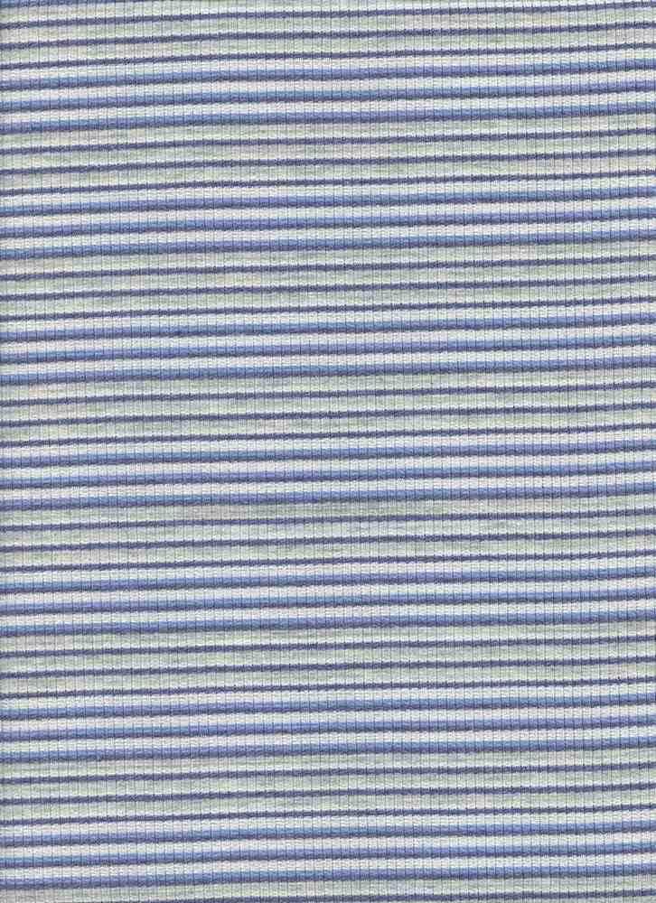 D1126 / BLUE / 4X2 RIB STRIPE