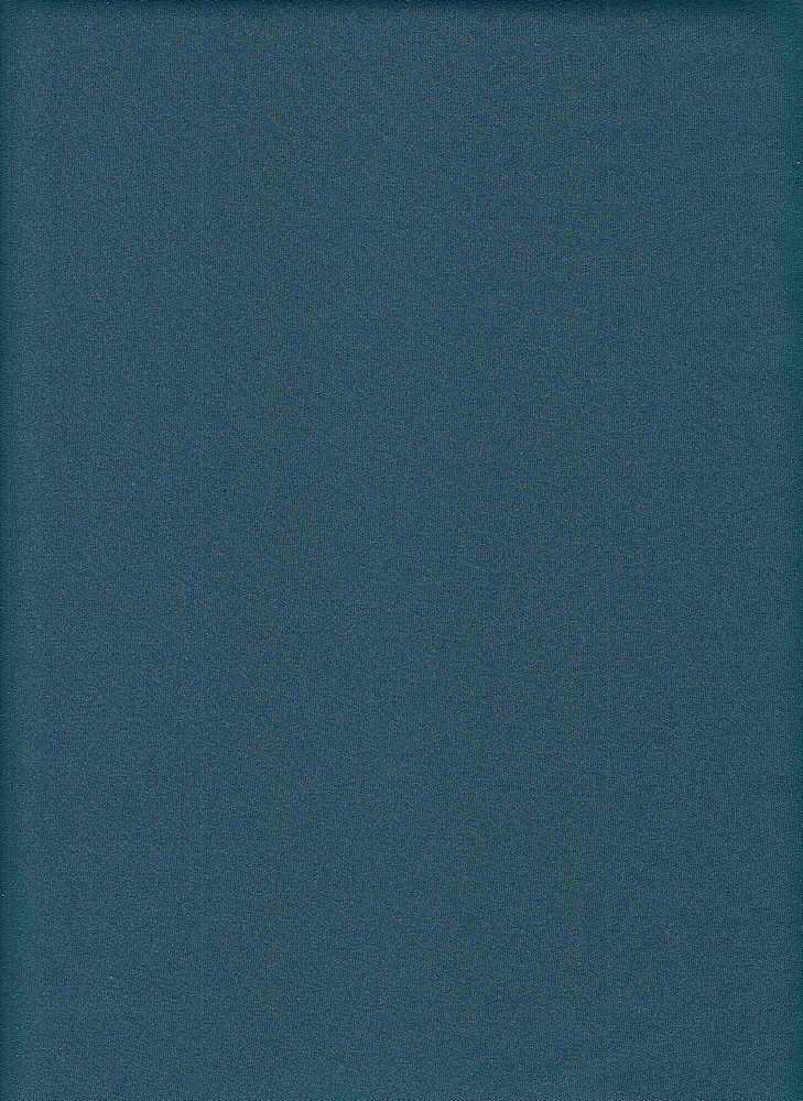 TECHNO / TEAL / DOUBLE KNIT[TECHNO] KNITTED FABRIC