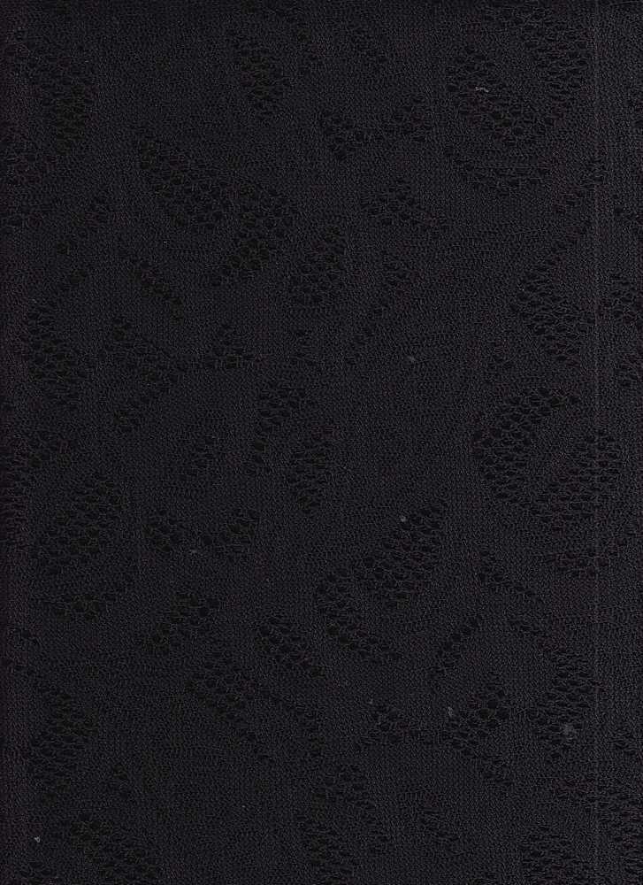 16014 3085 / BLACK / CROCHET LACE 3085