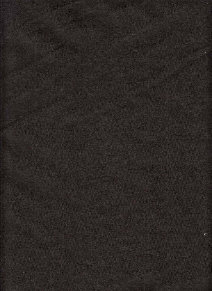 6817-70 / CHOCO FUDGE / 86/14 COTTON SPANDEX JERSEY