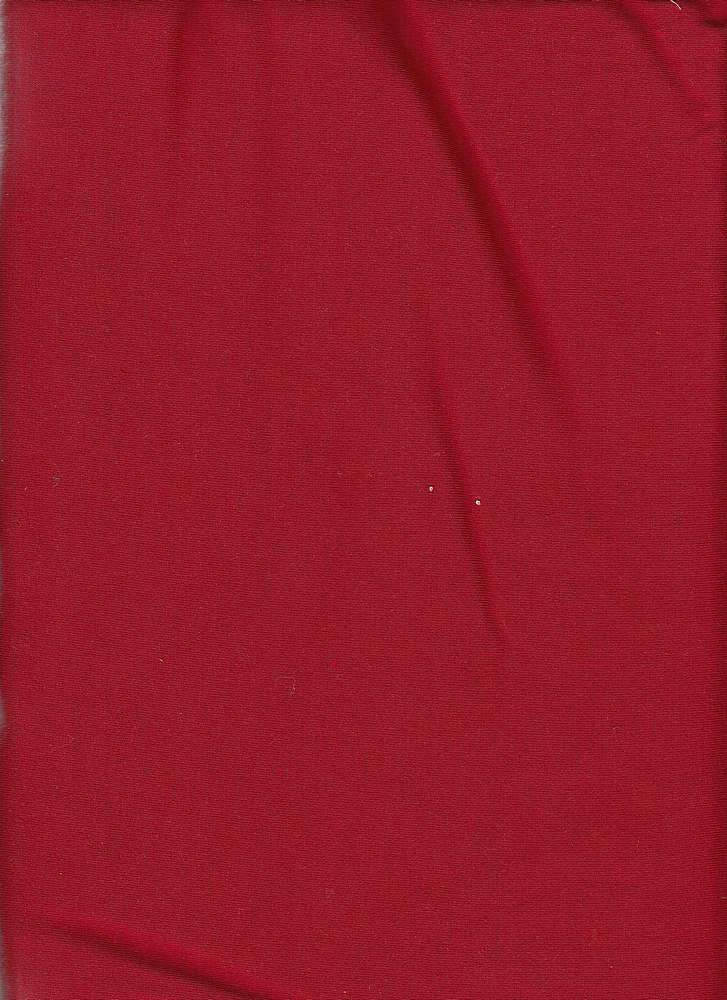 PRSJ 200 / RED 2 / POLY RAYON SPANDEX JERSEY