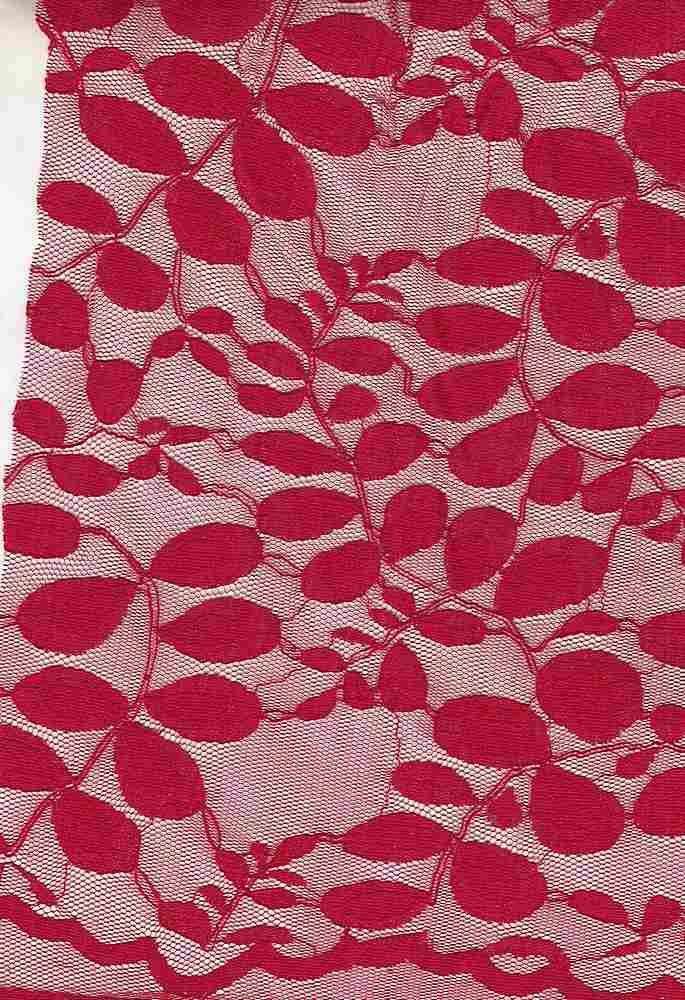 LACE LEAVES / SCARLET RED