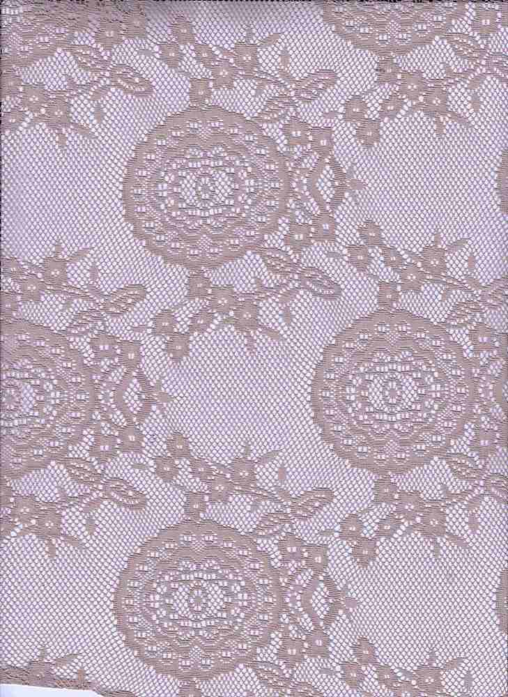 LACE DOILY / TAUPE