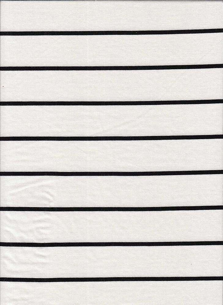 18319 STRIPE / WHITE/BLACK