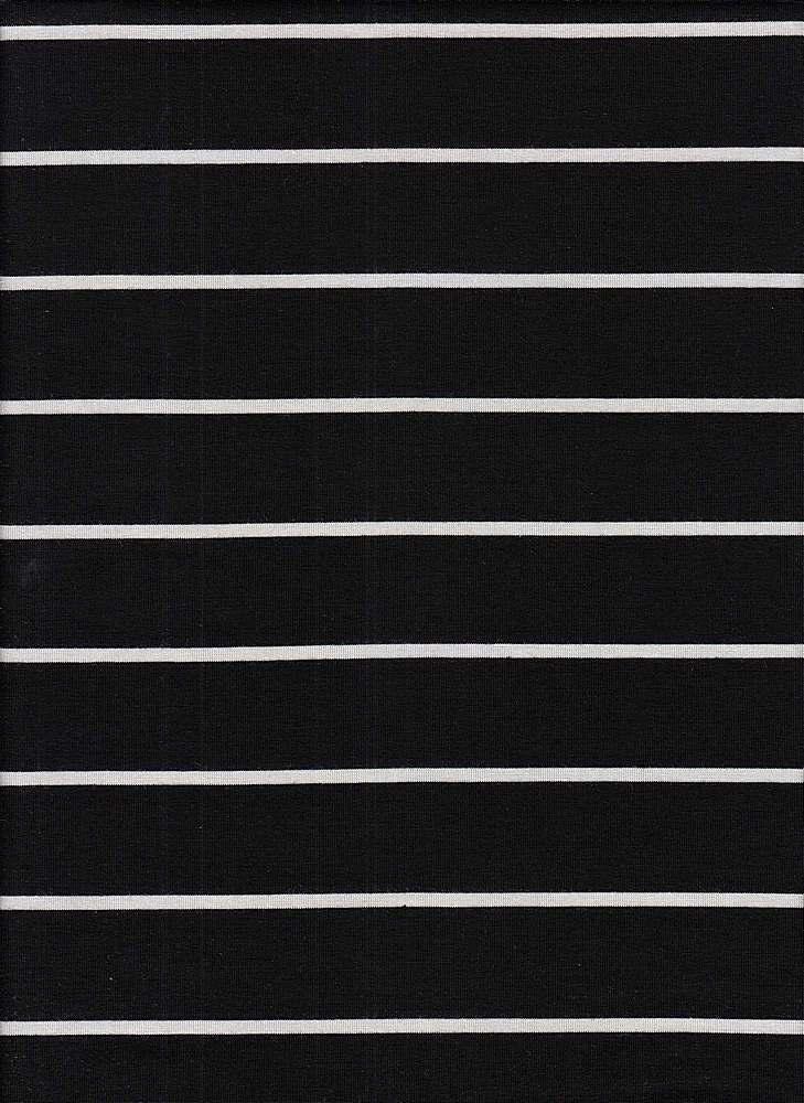 18319 STRIPE / BLACK/OFFWHITE