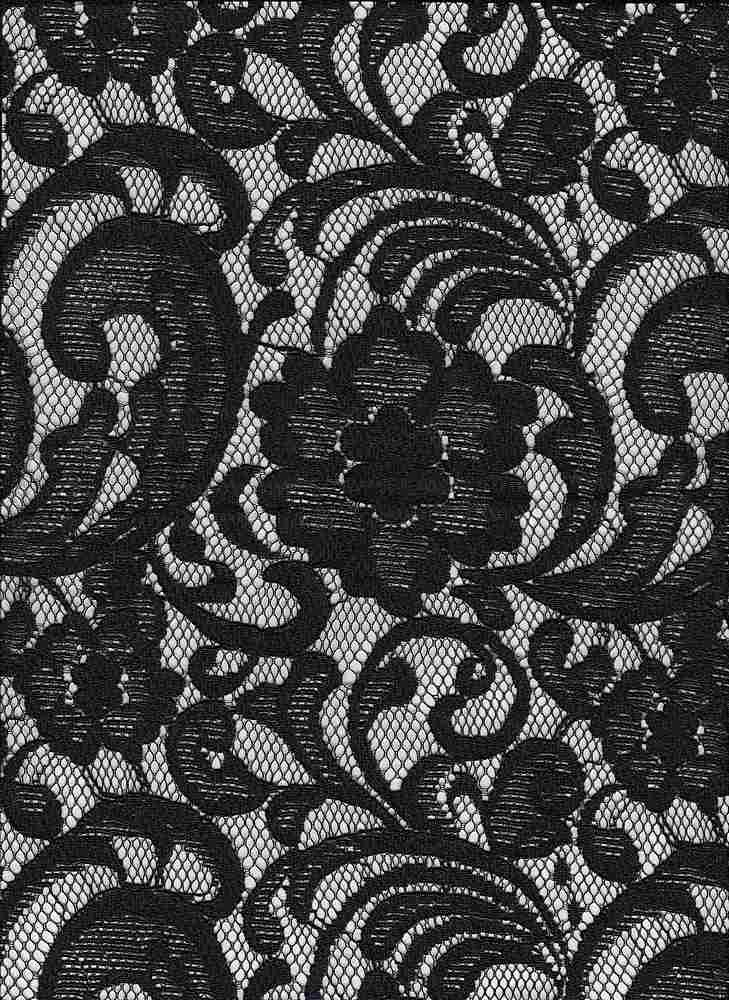 LARGE PAISLEY / BLACK