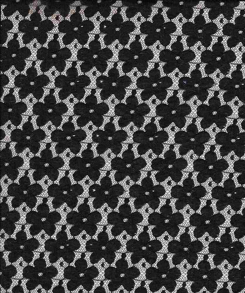 LACE SMLPANSY / BLACK