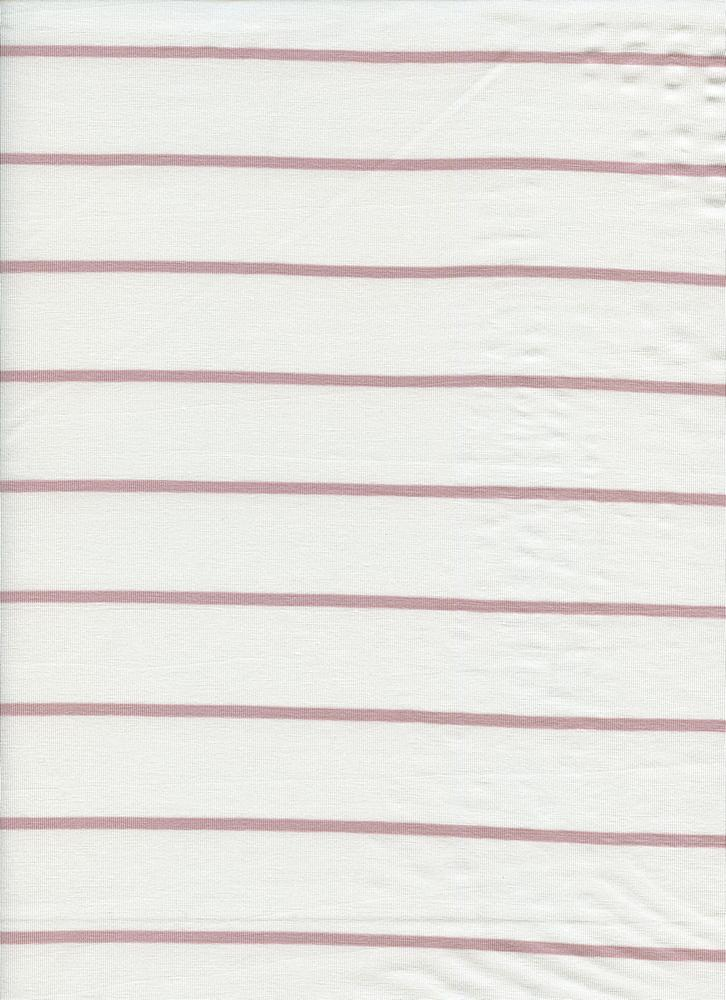 18319 STRIPE / ROSE DUST/OFFWHITE