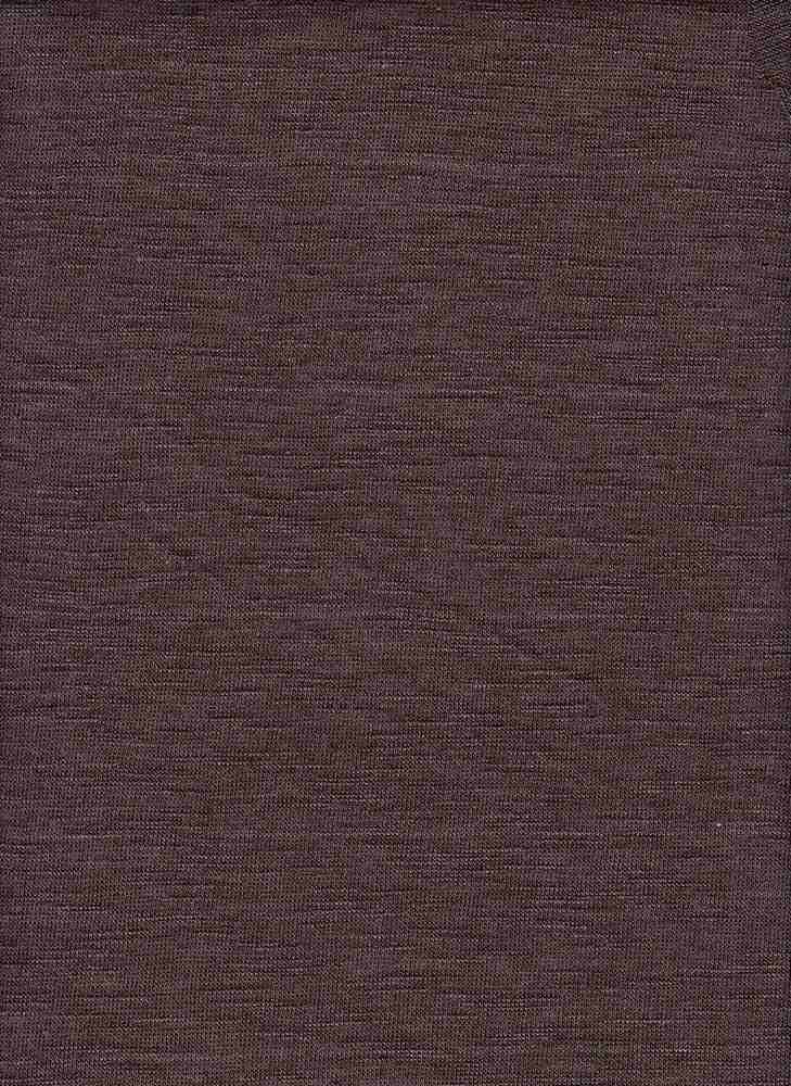 HACCI SLUB / BROWN HEATHER