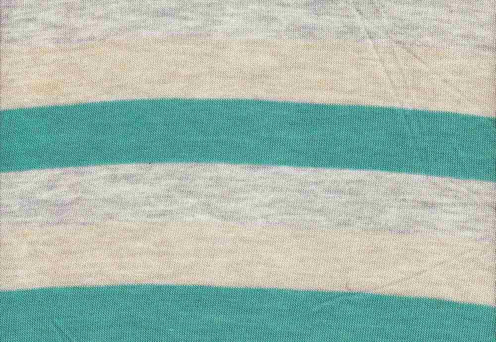 "18261 / JADE/HG/KHAKI / Baby Hacci 3"" Stripe"
