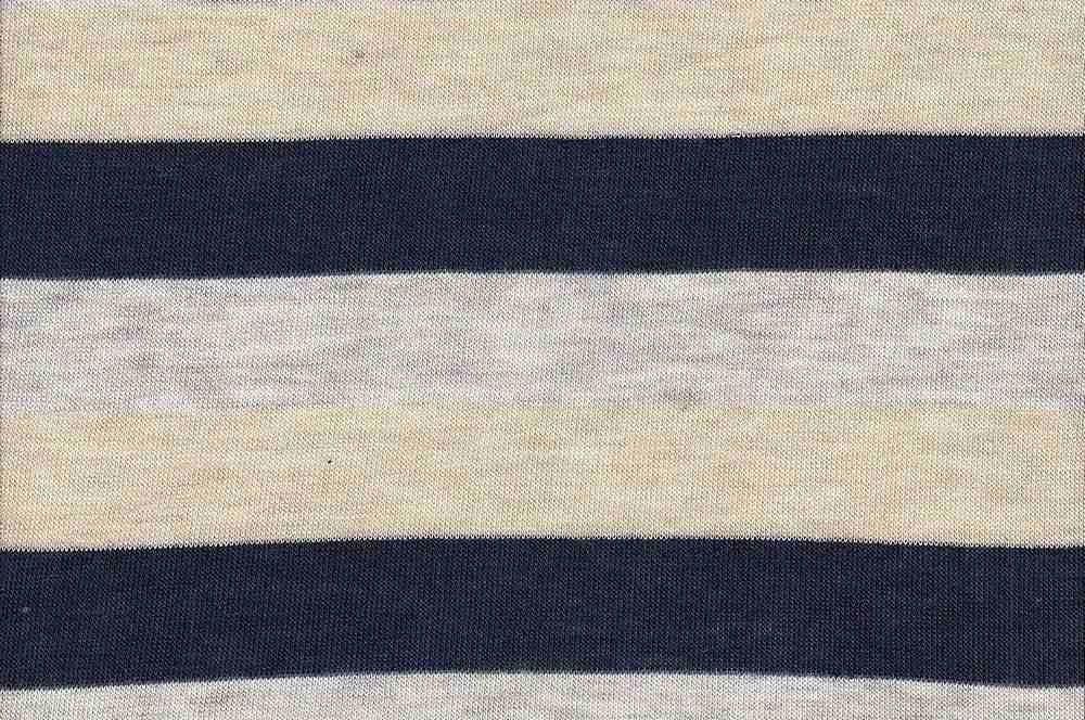 """18261 / NAVY/HG/KHAKI / Baby Hacci 3"""" Stripe"""