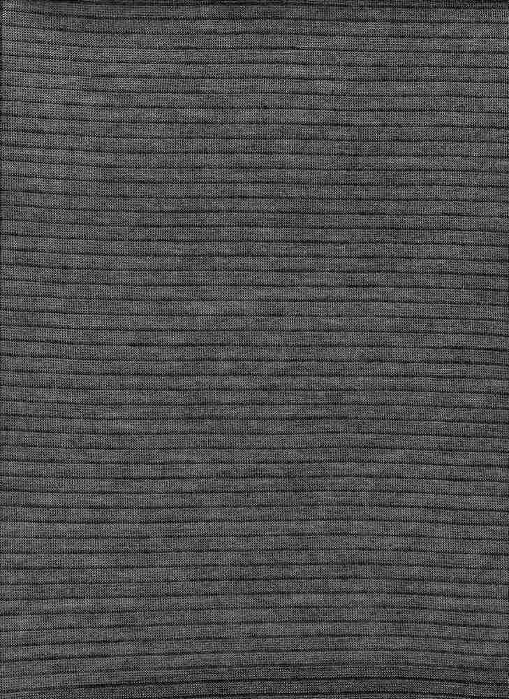 13151 / CHARCOAL/BLACK / UNEVEN BABY HACCI STRIPE