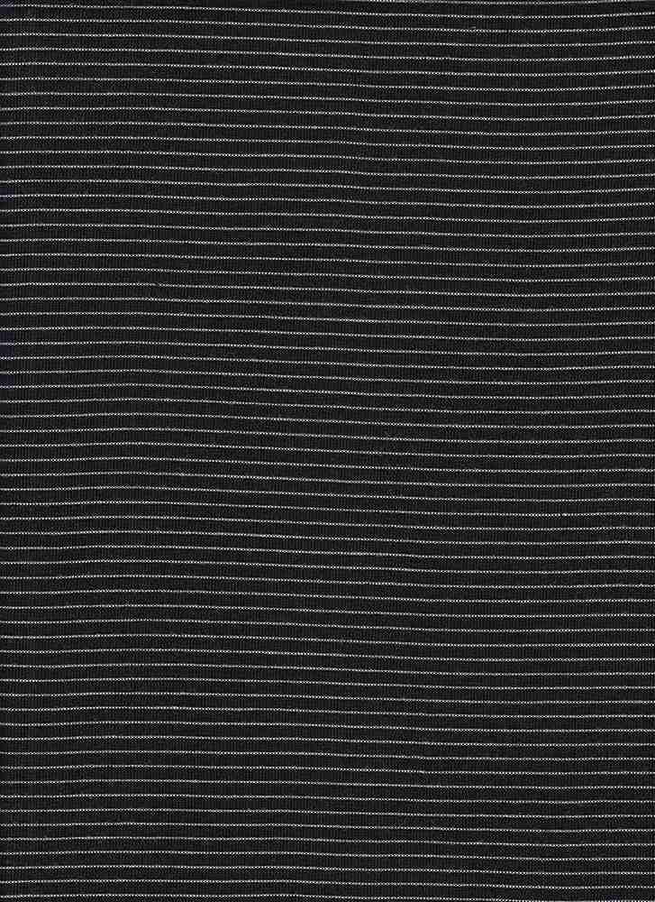 13151 / BLACK/IVORY / UNEVEN BABY HACCI STRIPE