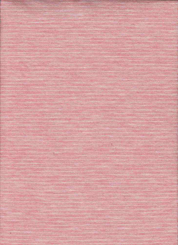13151 / HTR CORAL/IVORY / UNEVEN BABY HACCI STRIPE