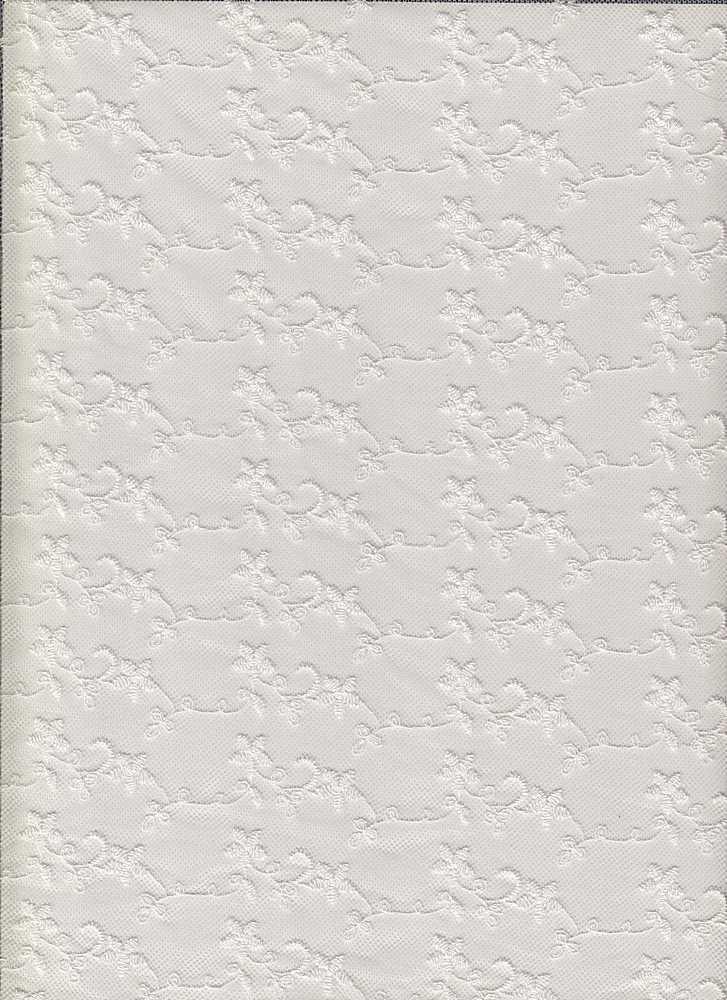 14108 / WHITE / STAR FLOWER