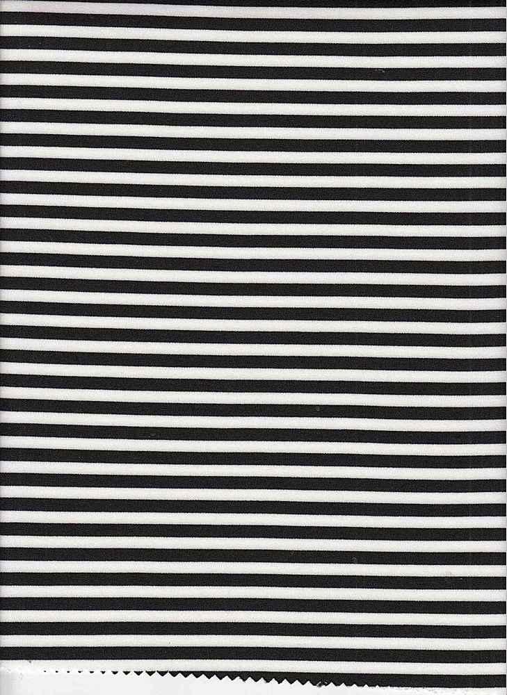 15155 / BLACK/WHITE / SCUBA STRIPE
