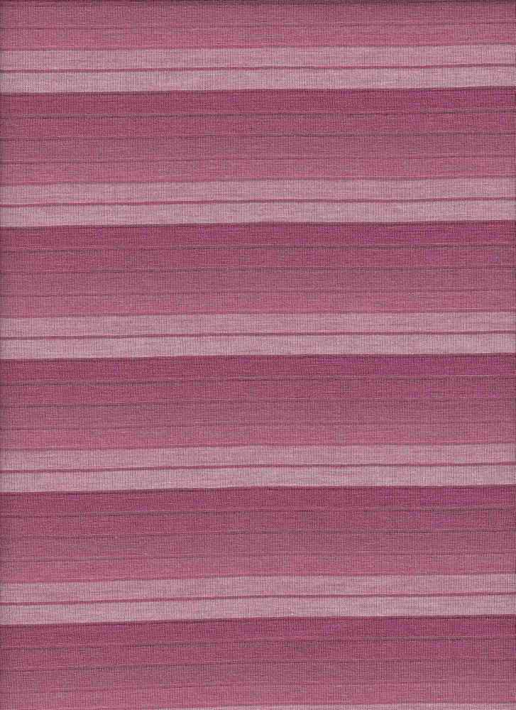 8983 / DUSTY ROSE / 40/4/56 POLY COTTON RAYON JERSEY OMBRE STRIPE