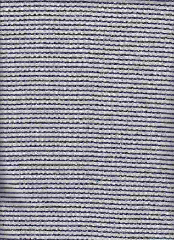 15162 / NAVY / PIN STRIPE LOOP TERRY