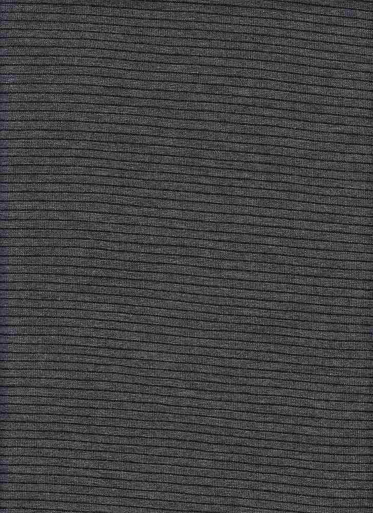13151 / H.GREY/BLACK / UNEVEN BABY HACCI STRIPE