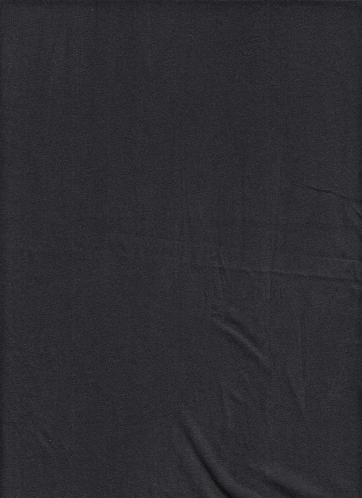 18396 / BLACK / WASHED COTTON JERSEY '