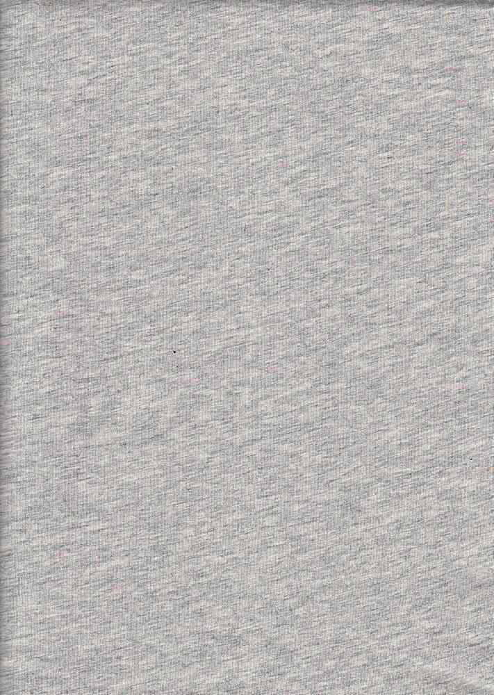 18396 / HTR GREY / WASHED COTTON JERSEY '