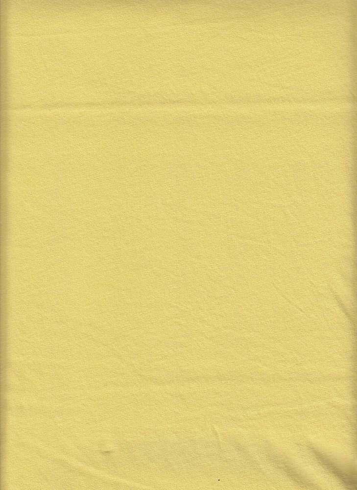 18396 / BANANA / WASHED COTTON JERSEY
