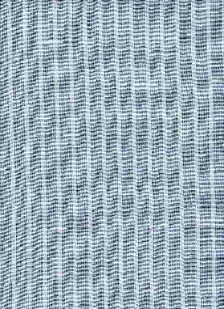 19455 / BLUE/WHT / RAYON SLUB ALLOVER W/STRIPE PRINTED