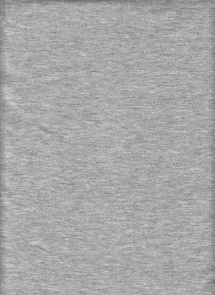 17086-200 / HTR GREY / POLY RAYON SPANDEX FRENCH TERRY