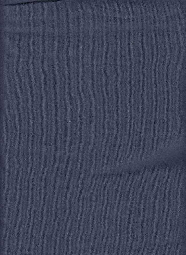 18396 / INDIGO / WASHED COTTON JERSEY