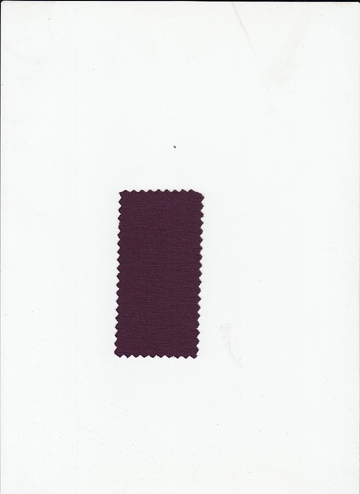 PRSJ 170 / PLUM PERFECT / 78/18/4 POLYRAYON JERSEY SPANDEX