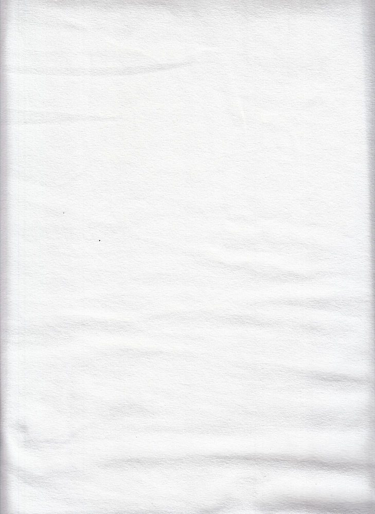 6817-70 / WHITE / 86/14 COTTON SPANDEX JERSEY