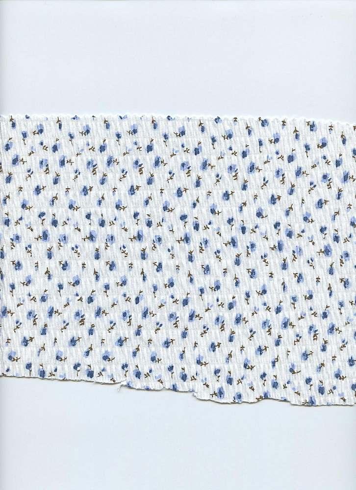 D1042 / BLUE / D0586PC Ditsy Print R-2760